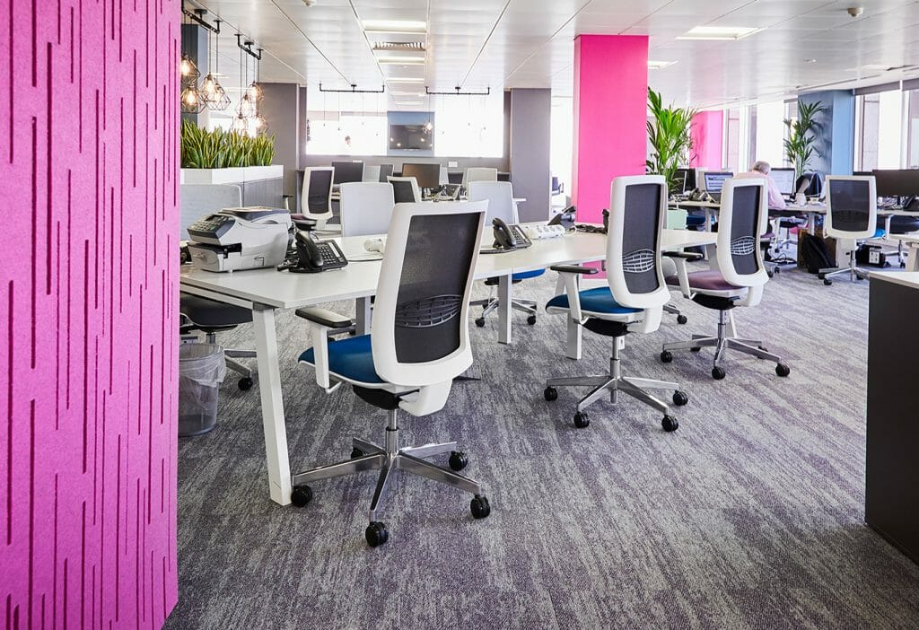 An example of flexible workplace design at AFH Wealth Management