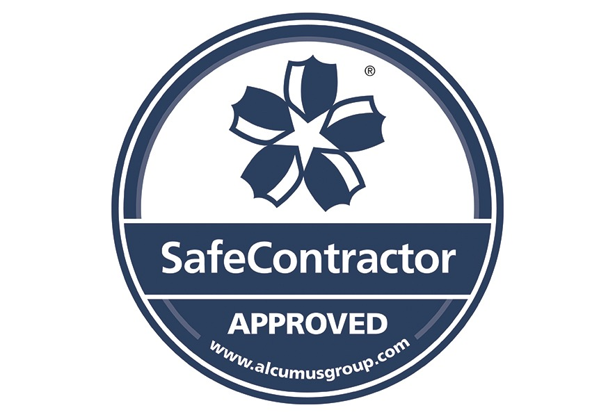 SafeContractor Accreditation Sticker B