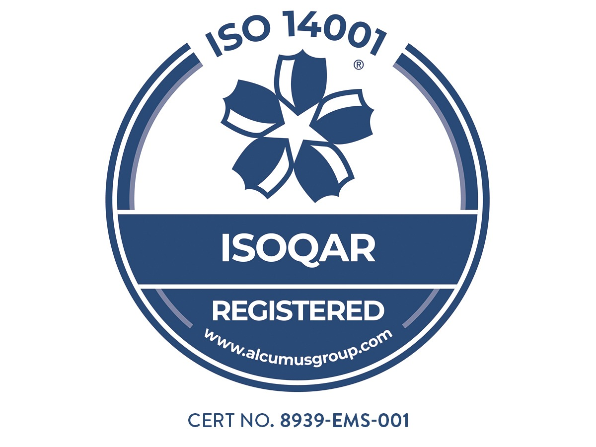 Seal Colour - Alcumus ISOQAR 14001